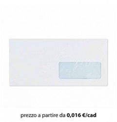 Busta Commerciale 11x23 - 1 finestra
