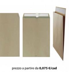 Busta Sacco 23x33 Kraft Avana + Soffietti Laterali
