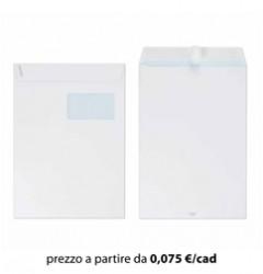 Busta Sacco 23x33 Bianco con Finestra