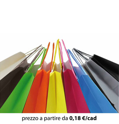 Shopper Carta Colorati 26x13x33
