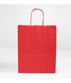 Shopper Carta - CHRISTMAS - Rosso 26x13x33