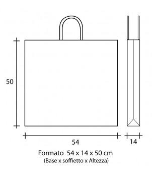 Shopper Carta 54x14x50 + GRAFICA