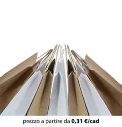 Shopper Carta Bianco - Avana 54x14x50