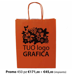 Shopper Carta 18X8x24 + GRAFICA