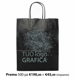 Shopper Carta 23X11x29 + GRAFICA