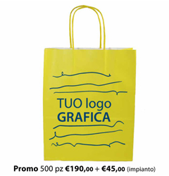Shopper Carta 26X13x33 + GRAFICA