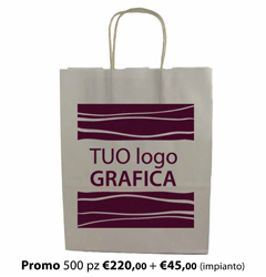 Shopper Carta 36X13x41 + GRAFICA