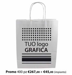 Shopper Carta 46X16x49 + GRAFICA