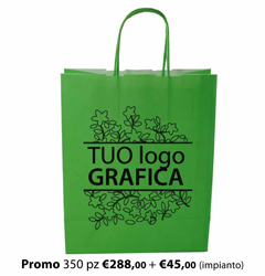 Shopper Carta 54x14x50 + GRAFICA