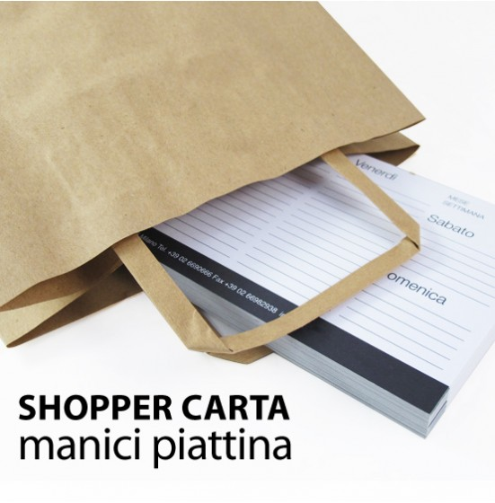 Shopper piattina neutro