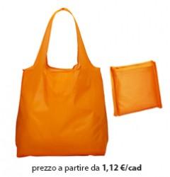 Shopper Ripiegabile Poliestere Arancione